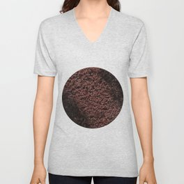 Autumn's red hedge Unisex V-Neck