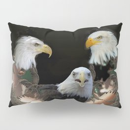 Majestic Eagles Pillow Sham