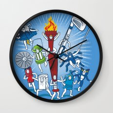 Any resemblance is purely coincidental Wall Clock