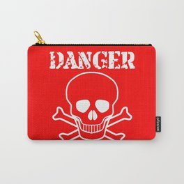 Red Danger Sign Carry-All Pouch