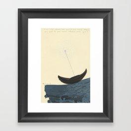 Magnetic North Framed Art Print