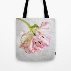 Vintage Tulip Tote Bag