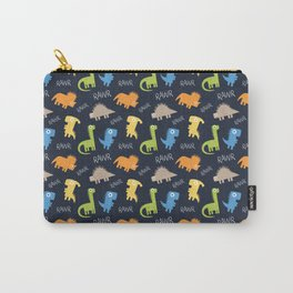 Rawr Print Carry-All Pouch