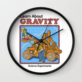 Learn about Gravity Wall Clock