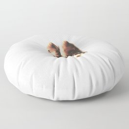 do small things with much love Floor Pillow
