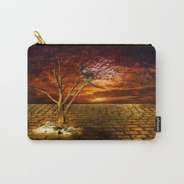 Einsamer Rabe - Lonely raven Carry-All Pouch
