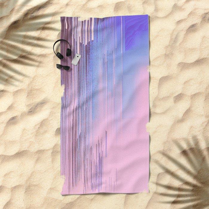 Quiet Inspiration Beach Towel