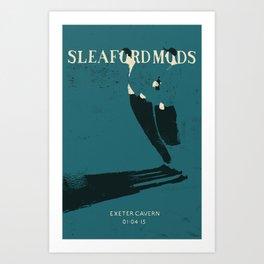 Sleaford Mods Art Print