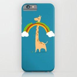 Taste of Happiness Rainbow iPhone Case
