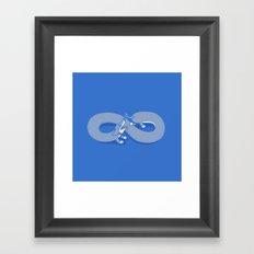 Endless Chase Framed Art Print
