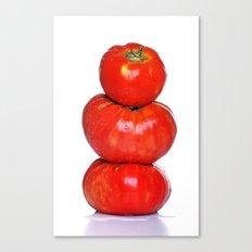 Biologic tomatoes Canvas Print