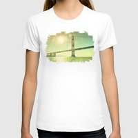 golden T-shirts featuring Golden... by Lisa Argyropoulos