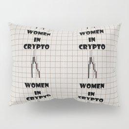 Women in Crypto Pillow Sham