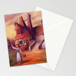 A Peculiar Girl Stationery Cards