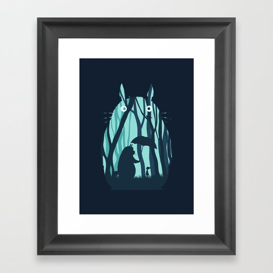 My Neighbor Totoro Framed Art Print