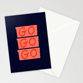 GO GO GO Stationery Cards