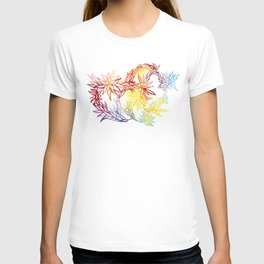 Flower Burst Color High T-shirt