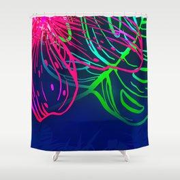 Electric Luau Shower Curtain