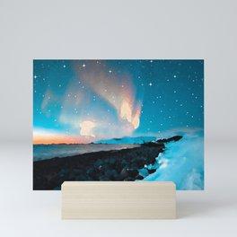 Northern light 2 Mini Art Print