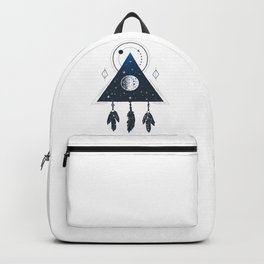 Space. Geometric Style Backpack