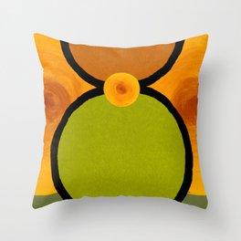 Peridot Eight Throw Pillow