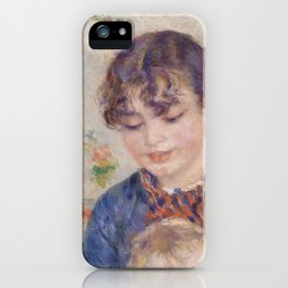 Young Mother iPhone Case