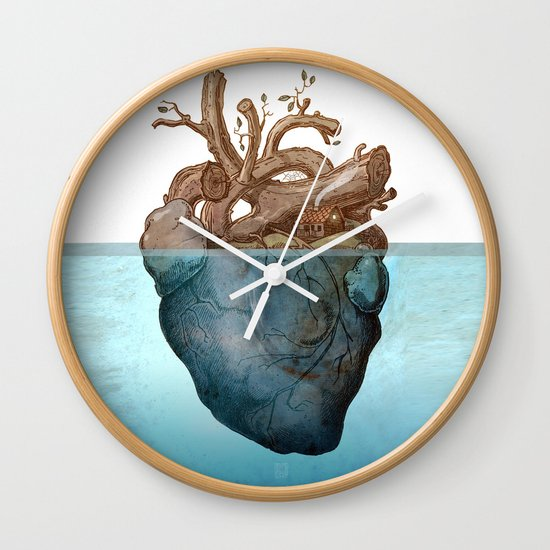 Anatomy of loneliness Wall Clock