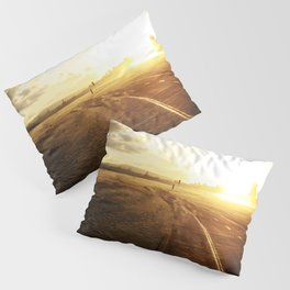Run into the Sunset Pillow Sham