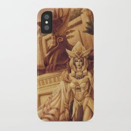 Egyptian Queen by Baxa iPhone Case