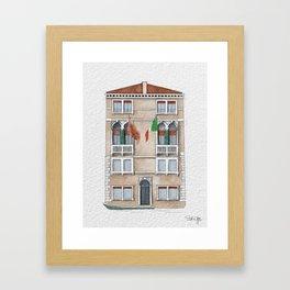 Venice Home Framed Art Print