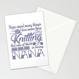 Knitting Nana Stationery Cards