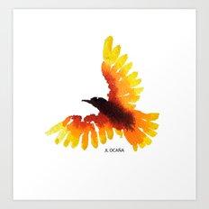 Hope bird. Art Print