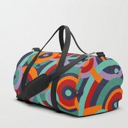 Colorful circles II Duffle Bag