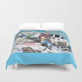 Pow Pow Powder Duvet Cover