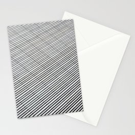 White strokes Stationery Cards