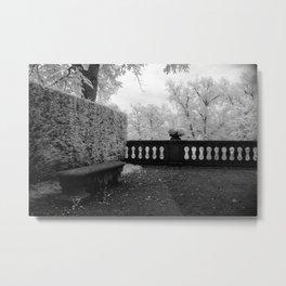 Park Bench II Metal Print