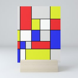 Mondrian #25 Mini Art Print