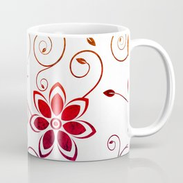 Bright Floral Design Coffee Mug