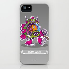 Robo Sushi iPhone Case