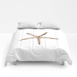 Blonde starfish Comforters