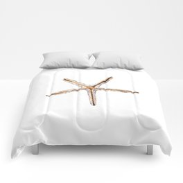 Blonde starfish Comforters