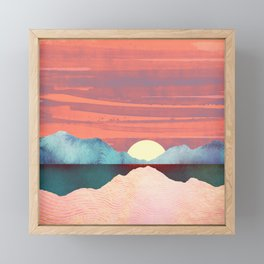 Pink Oasis Framed Mini Art Print