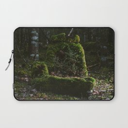 Abandoned by man, Reclaimed by nature Laptop Sleeve