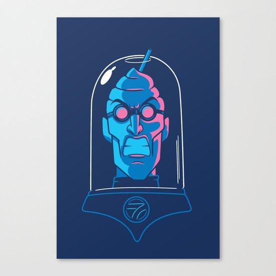 Mr. Brain Freeze Canvas Print