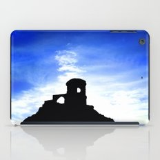 Mowcop Folly Sunst Silhouette iPad Case