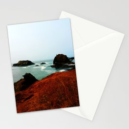Red Thunder Rock Cove Stationery Cards