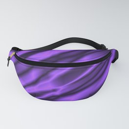 A chaotic cluster of violet bodies on a light background. Fanny Pack