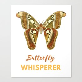 Butterfly Whisperer Canvas Print
