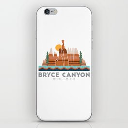 Bryce Canyon National Park Utah Graphic iPhone Skin