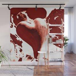 Heart online Wall Mural